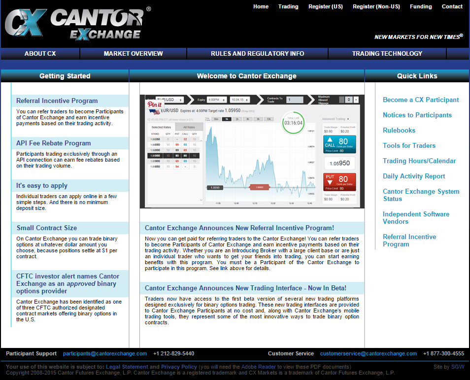 Cantor Exchange review