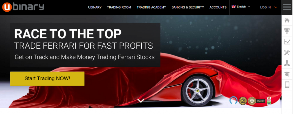 List of does trading binary option work