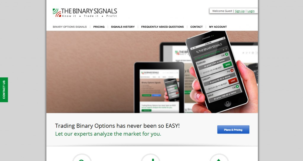 Thebinarysignals.com Review at Glance