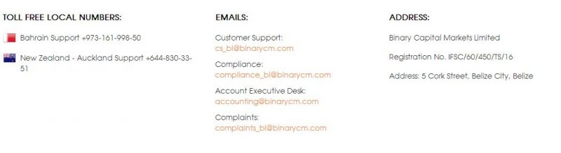 bcm customer support review