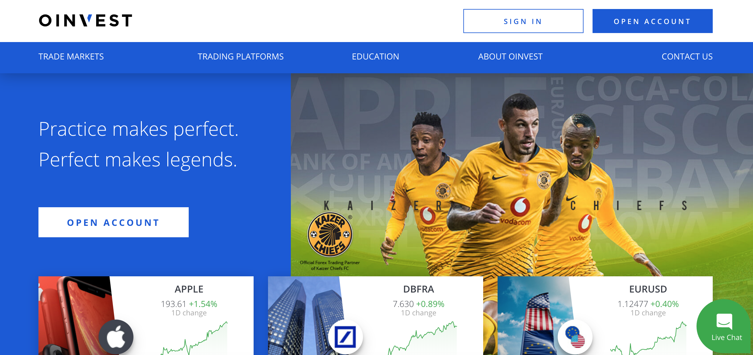The Oinvest Forex broker: what do they offer?